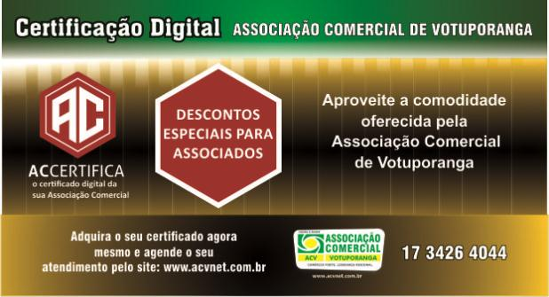 Certificação Digital é na Associação Comercial