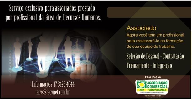 Associação Comercial assessora associados em contratações