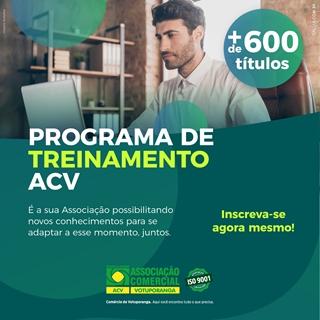 ACV lança portal de treinamento on-line
